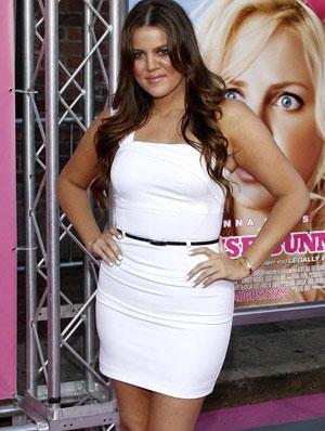 khloe kardashian pierde în greutate