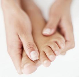 pinteni între tratamentul degetelor de la picioare)