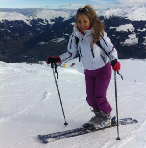 Pentru slăbire, Florentina Opriş recomandă schi safari