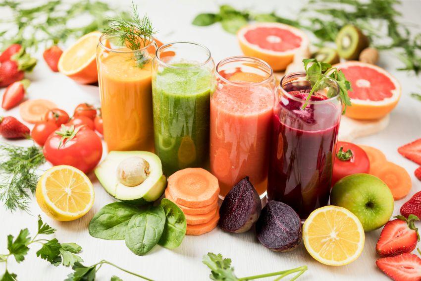 cura de slabire cu sucuri de legume si fructe