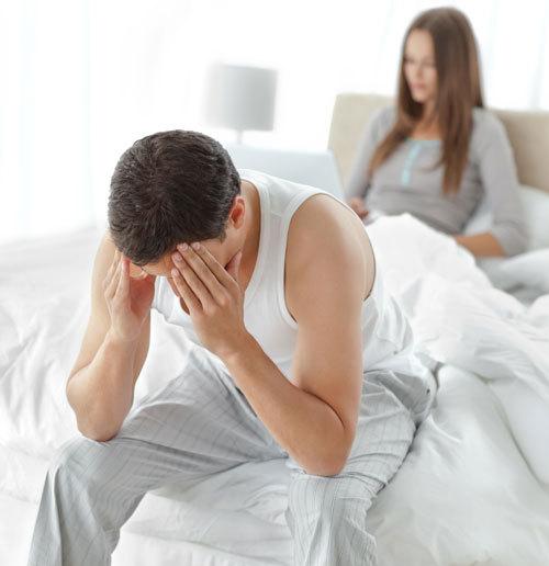 erecție neregulată a vieții sexuale