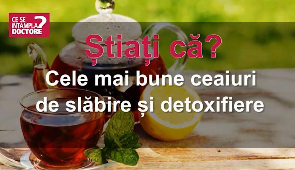cel mai bun ceai de slăbire)