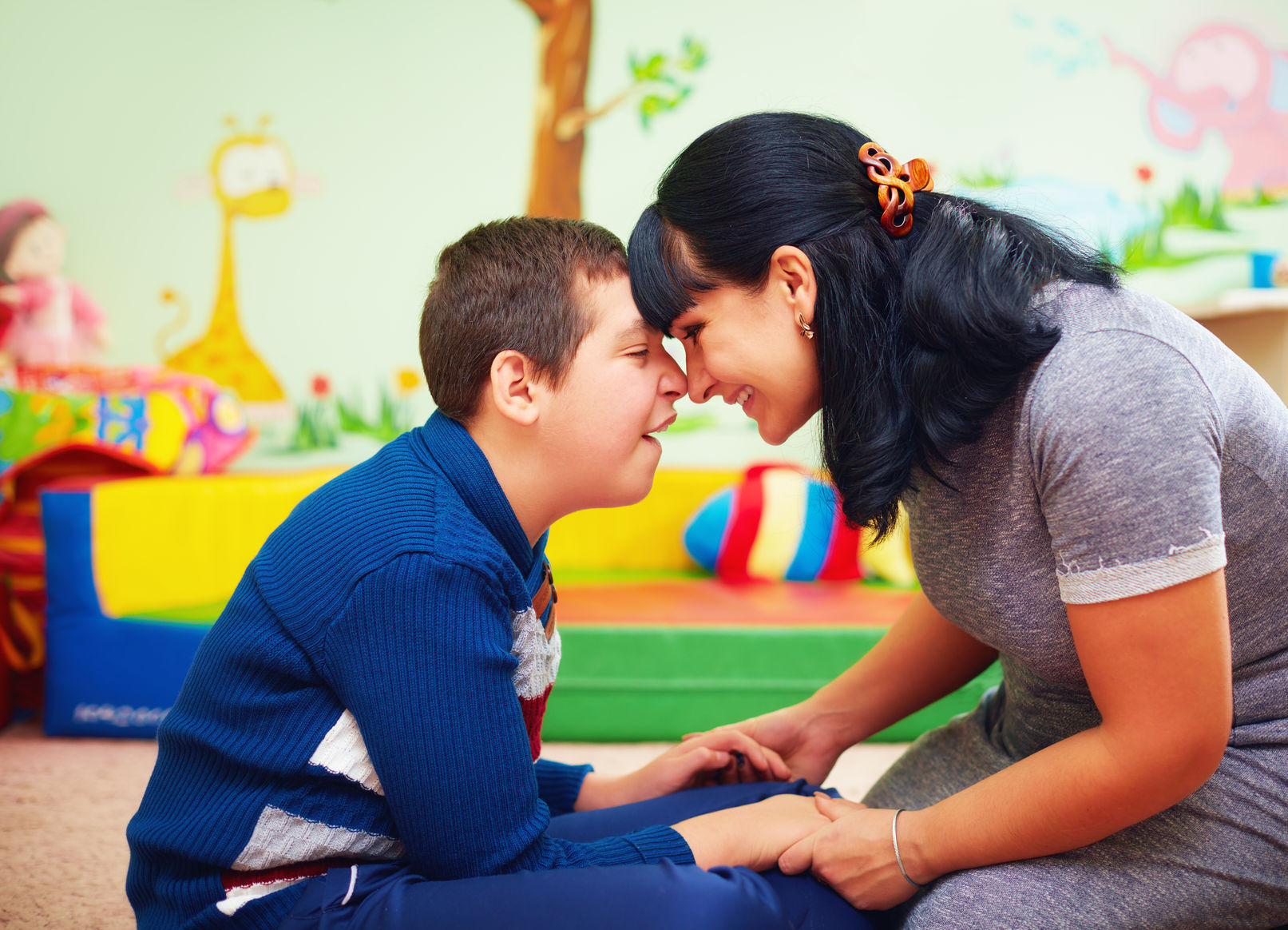 recomandări pentru părinții cu deficiențe de vedere
