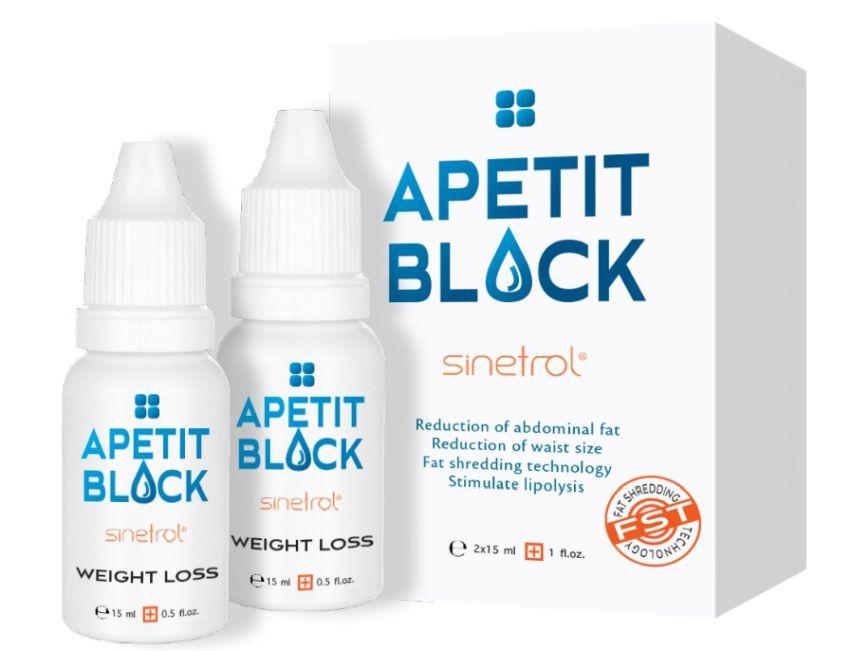 Apetit Block, 2 x 15ml, Empire Expert Pharma
