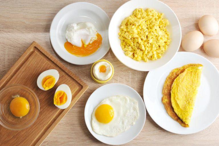 Câte calorii are un ou, în funcție de cum este gătit